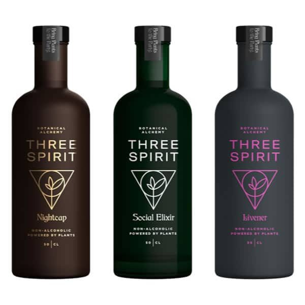 Three Spirit Mixed Case Buy online from Dry Drinker.